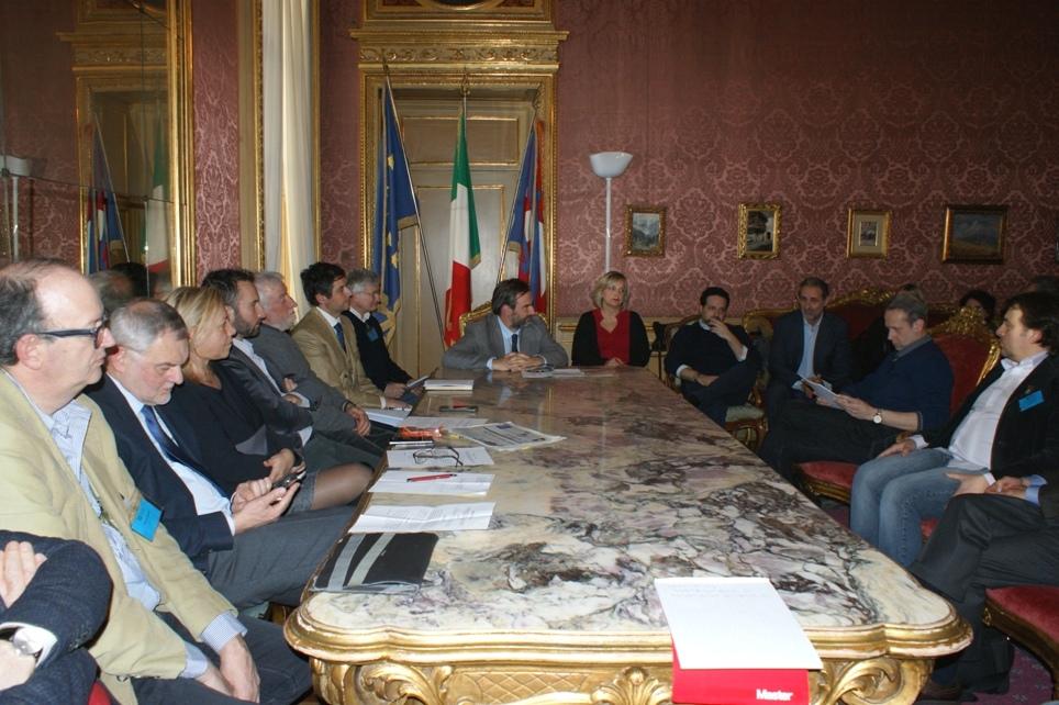 l'incontro di ieri nella sede del Consiglio Regionale