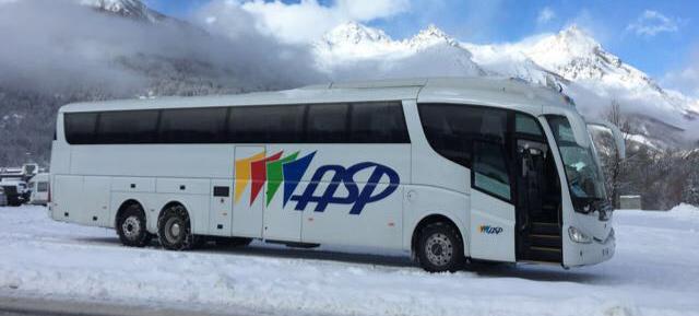 Bus per il noleggio turistico