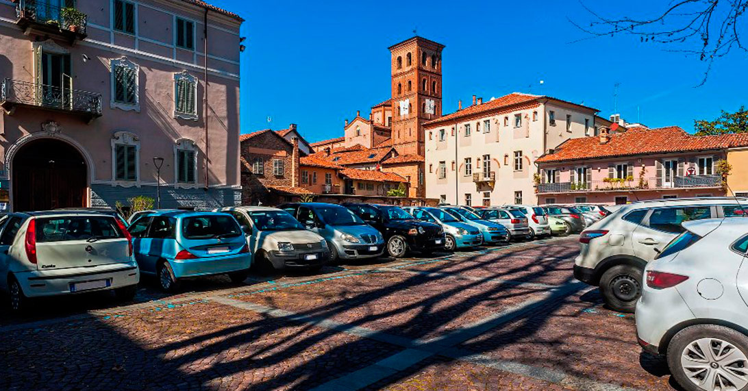 Parcheggio Piazza Castigliano (sosta a pagamento)