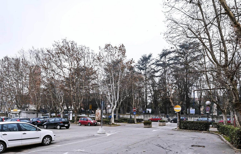Dalla piazza verso il Parco della Resistenza
