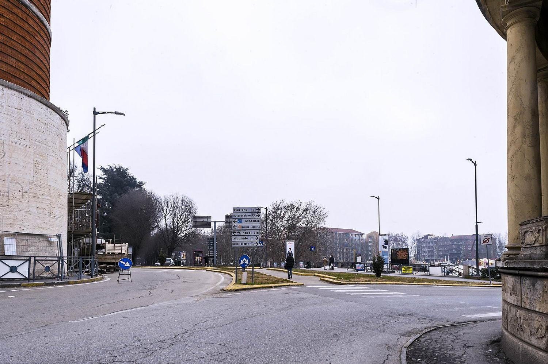 Veduta da piazza Libertà