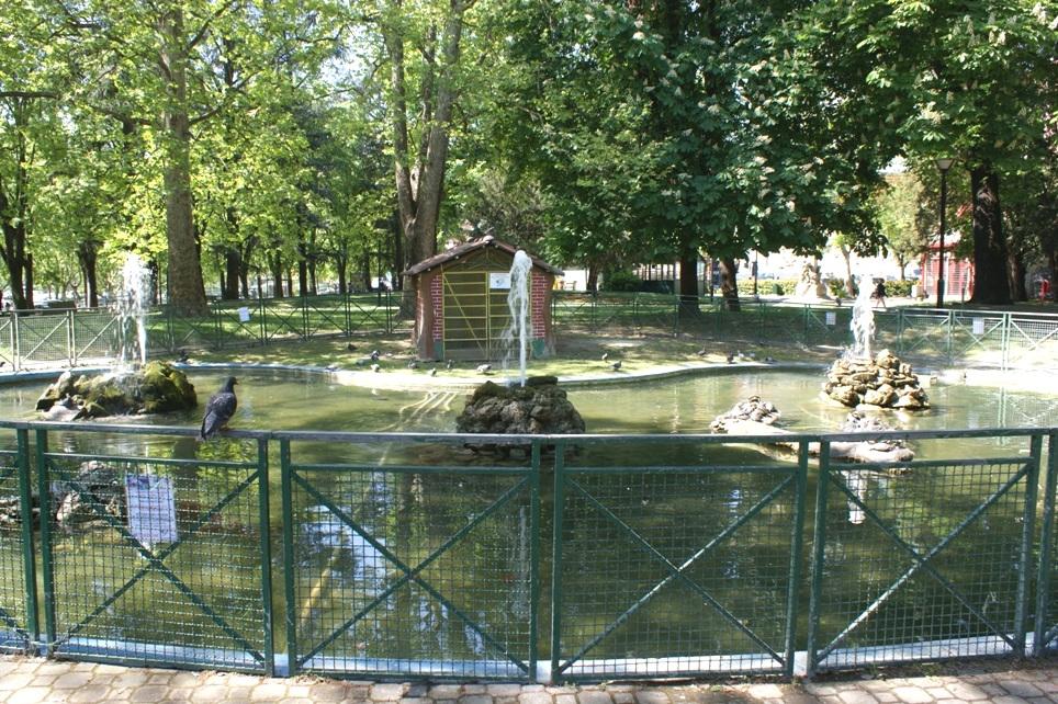 la fontana del Parco della Resistenza