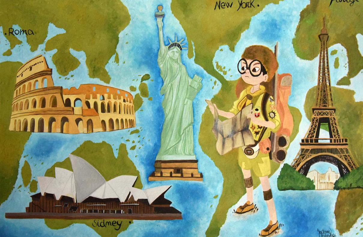 Federica Salvadego - Cresci viaggiando
