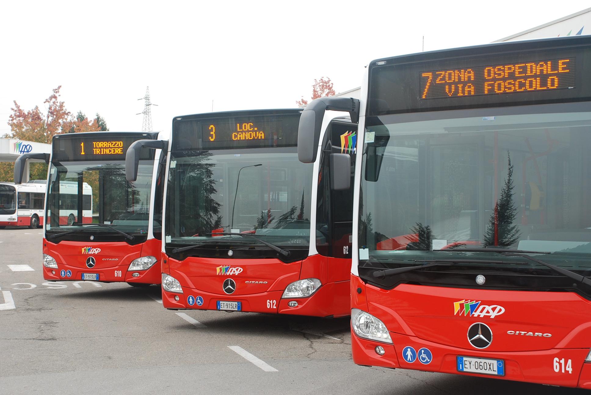 variazioni bus 9-10 agosto