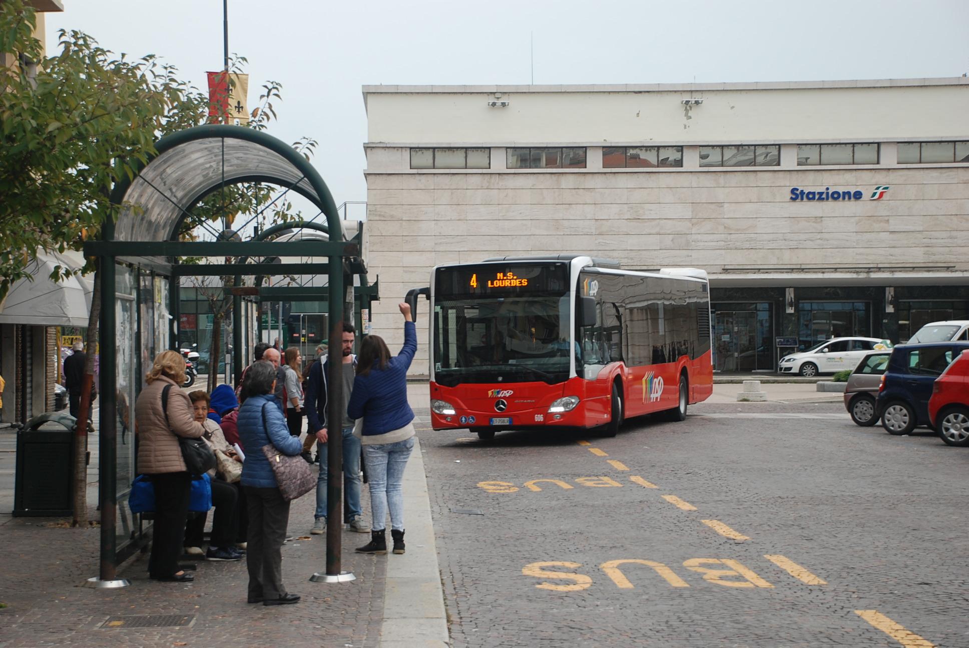 43 - variazioni percorso bus linea 4
