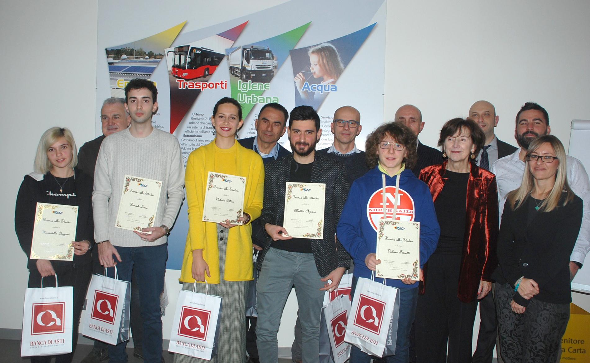75 - consegna Premi allo studio