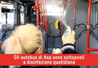Disinfezione Bus