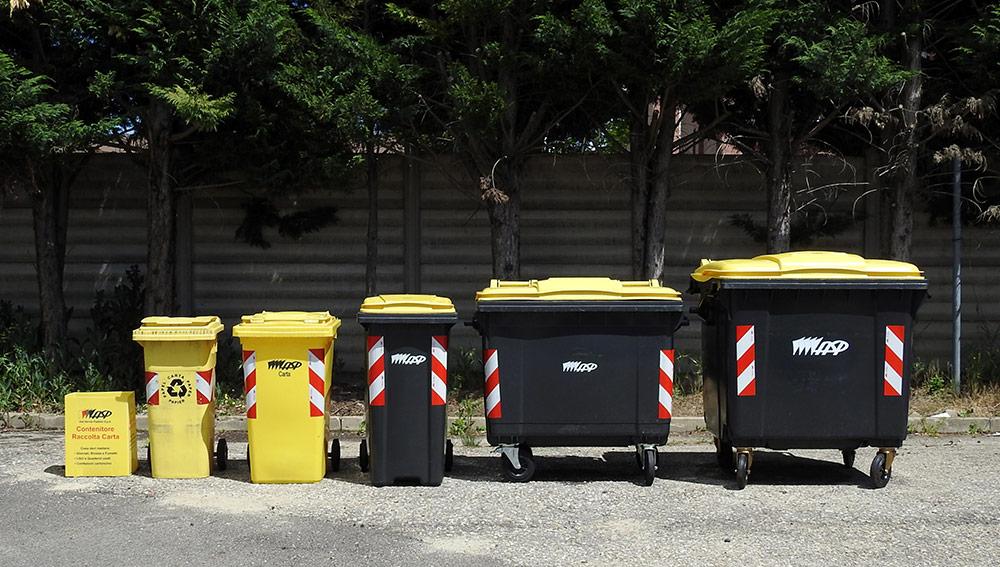 I contenitori per la raccolta della carta