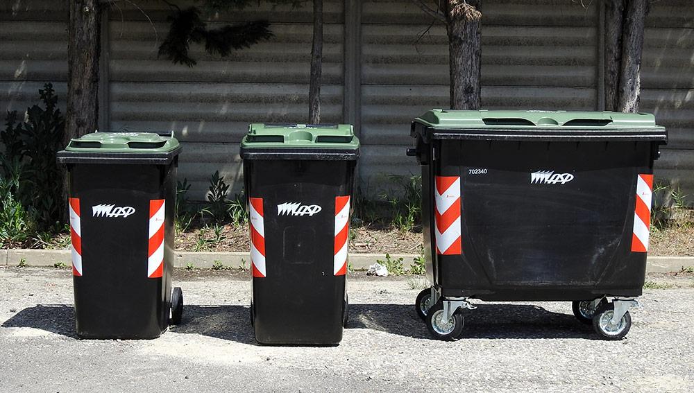 I contenitori per la raccolta del verde