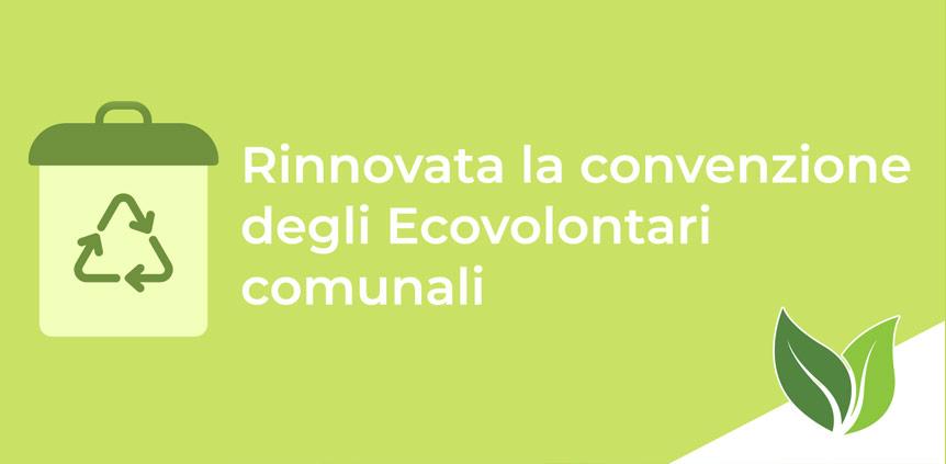Convenzione Ecovolontari comunali